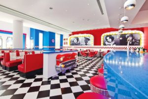 Olympic Lagoon Resort Paphos 50s Diner