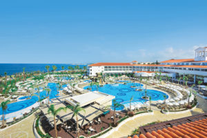 Olympic Lagoon Resort Paphos Aerial Photo