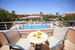 Spanien - Andalusien - Hipotels Barrosa Garden - Blick von Balkon
