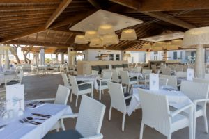 Spanien - Andalusien - Hipotels Barrosa Park - Buffettrestaurant Terrasse 2